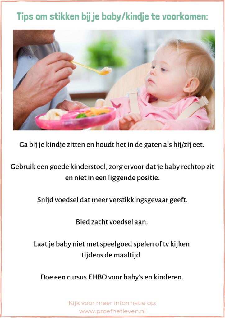 Tips om stikken bij je baby/kindje te voorkomen - Proef het leven