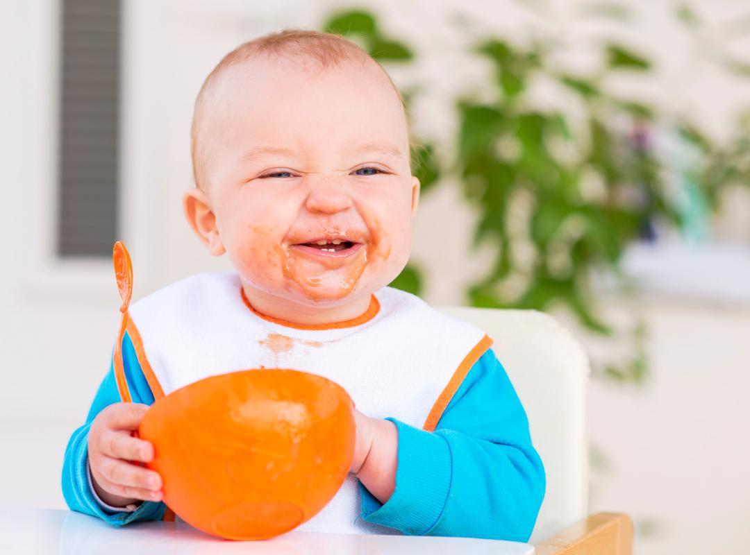 7 x Tips voor het geven van de eerste hapjes aan je baby