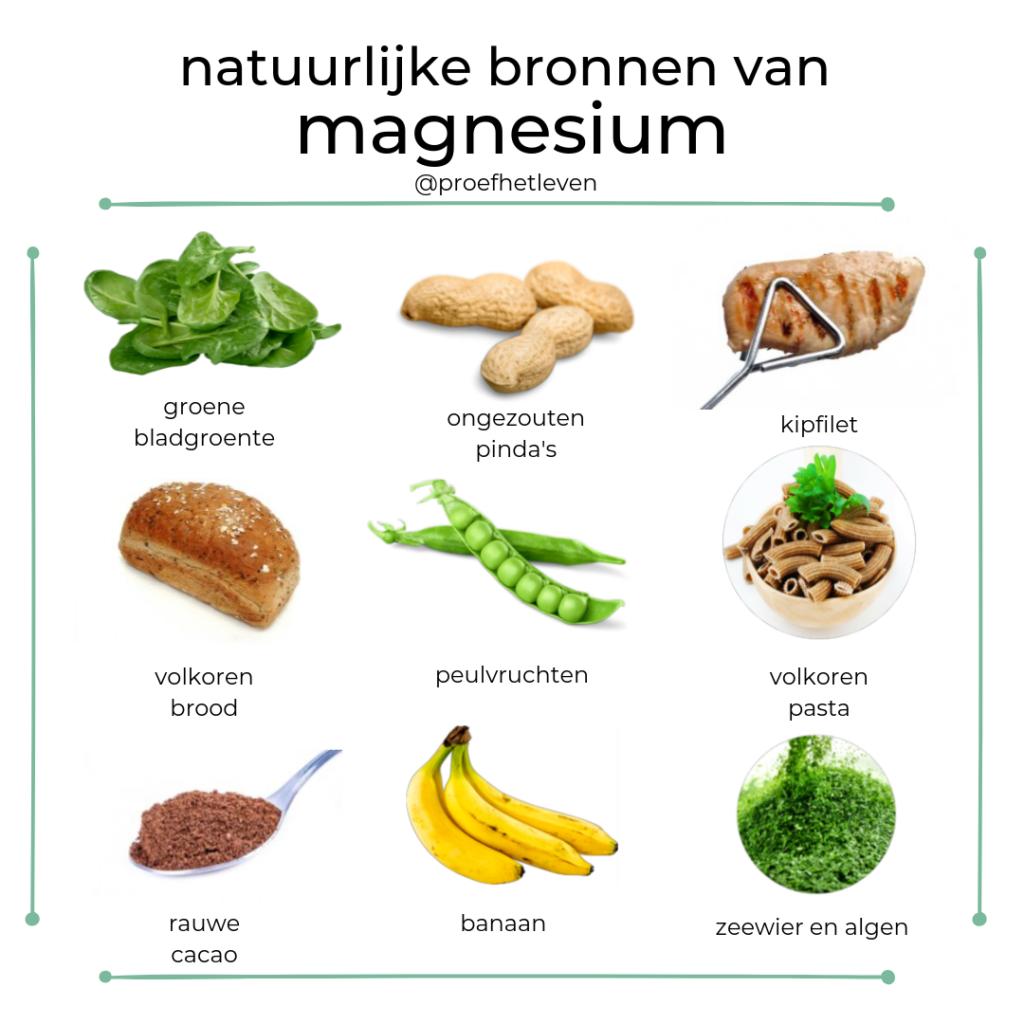 magnesium in voeding - Proef het leven