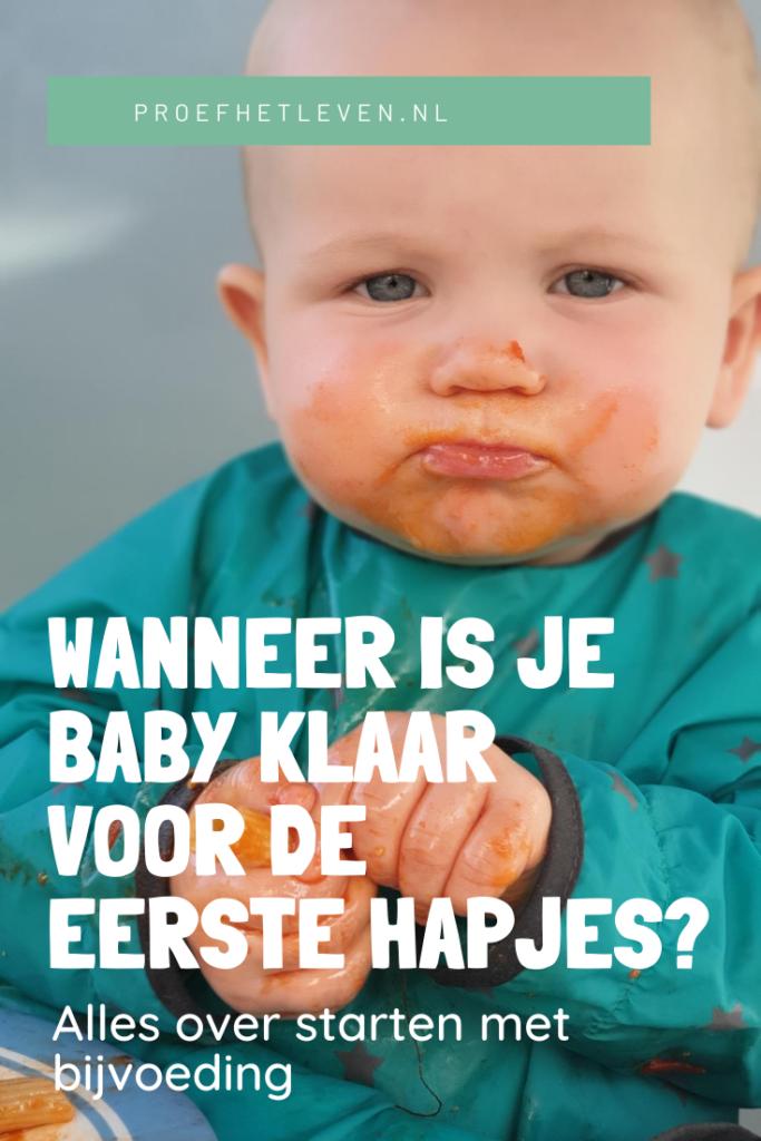 wanneer is je baby klaar voor de eerste hapjes? - Proef het leven