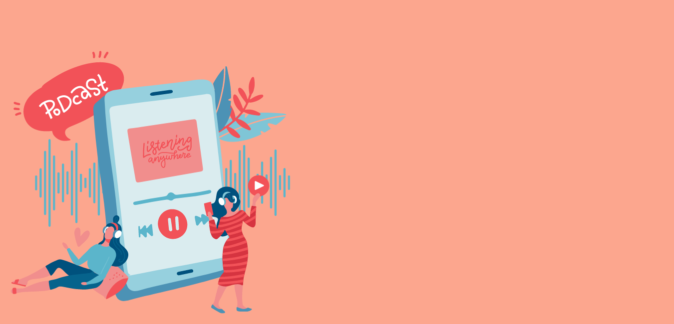Podcasts over intuïtief eten, haes, vrouwelijke gezondheid en meer